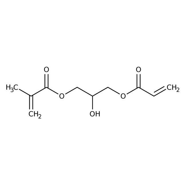 1-(Acryloyloxy)-3-(methacryloyloxy)-2-propanol (stabilized with MEHQ) 80.0+%, TCI America™