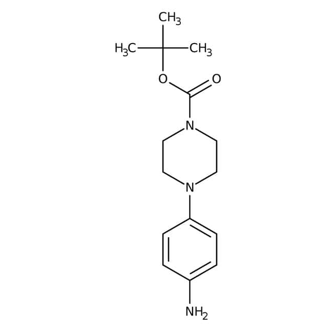 Alfa Aesar™1-Boc-4-(4-aminophenyl)piperazine, 97% 5g Alfa Aesar™1-Boc-4-(4-aminophenyl)piperazine, 97%