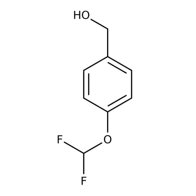 Alfa Aesar  4-(Difluoromethoxy)benzyl alcohol, 97%