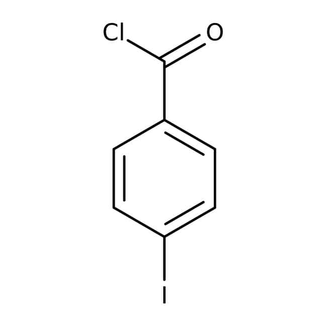 4-Iodobenzoyl chloride, 98%, Acros Organics: Halobenzoic acids and derivatives Benzoic acids and derivatives