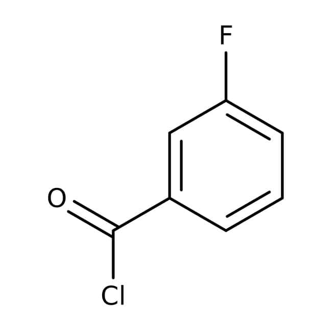 Alfa Aesar™ 3-Fluorobenzoyl chloride, 98%: Halobenzoic acids and derivatives Benzoic acids and derivatives