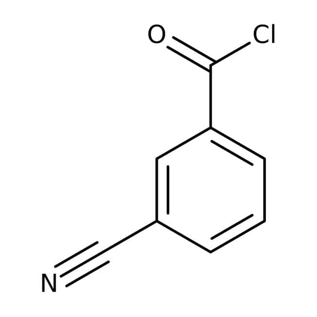 3-Cyanobenzoyl chloride, 98%, ACROS Organics