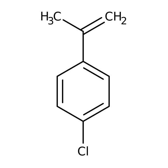 4-Chloro-alpha-methylstyrene (stabilized with TBC) 97.0 %, TCI America