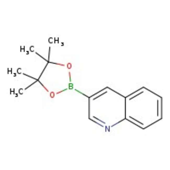 3-Quinolineboronic acid pinacol ester, 97%, ACROS Organics™ 5g 3-Quinolineboronic acid pinacol ester, 97%, ACROS Organics™
