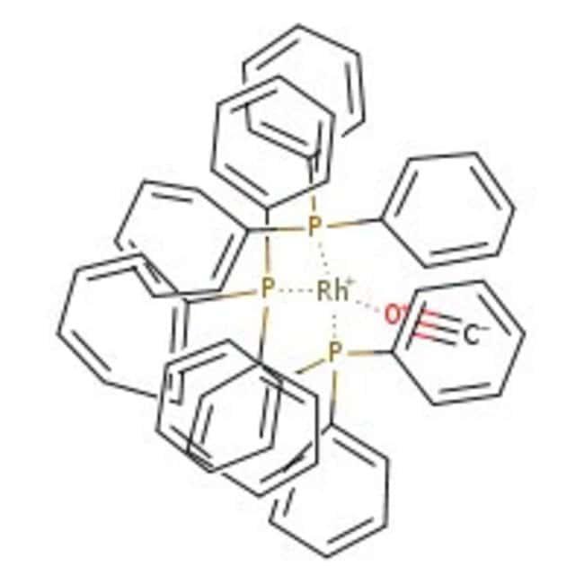 Alfa Aesar™Carbonylhydridotris(triphenylphosphine)rhodium(I), Rh 10.0% min