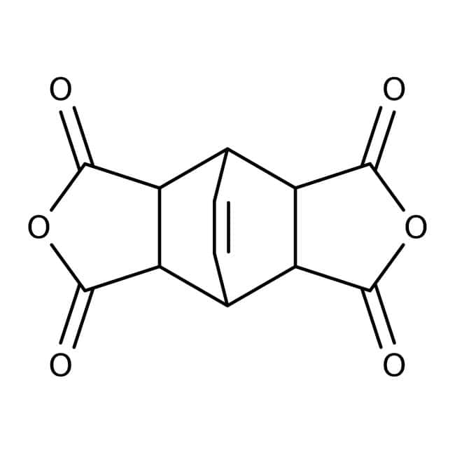 Bicyclo[2.2.2]oct-7-ene-2,3,5,6-tetracarboxylic dianhydride, 97%, ACROS Organics