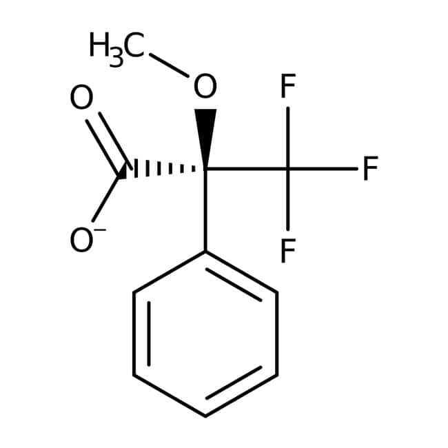 (S)-(-)-alpha-Methoxy-alpha-(trifluoromethyl)phenylacetic acid, 98%, ACROS Organics™