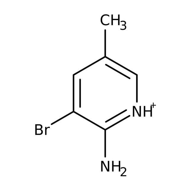 3-Bromo-5-methylpyridin-2-amine, 97%, Maybridge