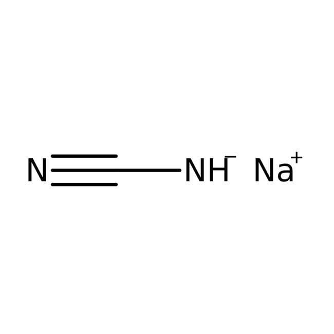 Sodium hydrogencyanamide, 98%, ACROS Organics™