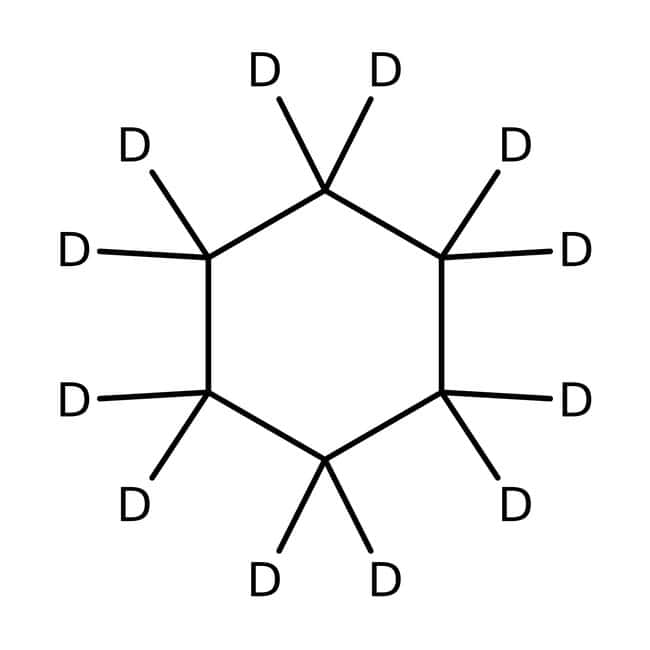 Cyclohexane-d12, for NMR, 99.5% atom D, ACROS Organics™ 5g; Glass bottle Cyclohexane-d12, for NMR, 99.5% atom D, ACROS Organics™