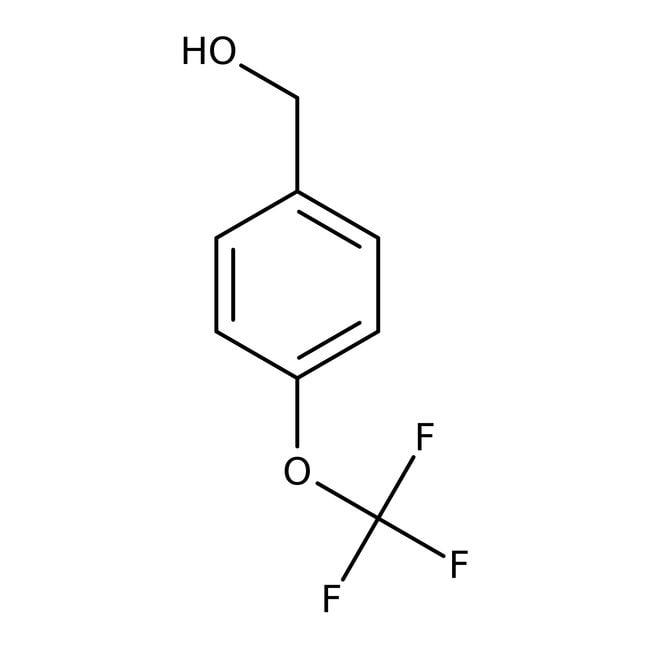 Alfa Aesar™4-(Trifluoromethoxy)benzyl alcohol, 97% 5g Alfa Aesar™4-(Trifluoromethoxy)benzyl alcohol, 97%