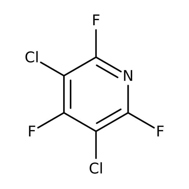 3,5-Dichloro-2,4,6-trifluoropyridine, 98%, ACROS Organics™ 5g 3,5-Dichloro-2,4,6-trifluoropyridine, 98%, ACROS Organics™