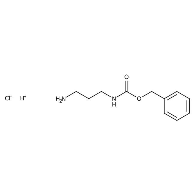 N-Benzyloxycarbonyl-1,3-propanediamine hydrochloride, 98%, ACROS Organics™