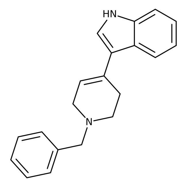 Alfa Aesar™3-(1-Benzyl-1,2,3,6-tetrahydro-4-pyridyl)indole, 97% 1g Alfa Aesar™3-(1-Benzyl-1,2,3,6-tetrahydro-4-pyridyl)indole, 97%