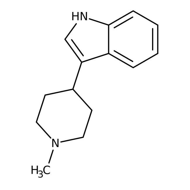 Alfa Aesar  3-(1-Methyl-4-piperidinyl)indole, 97%