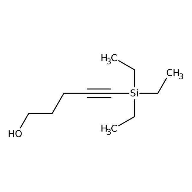 5-Triethylsilyl-4-pentyn-1-ol +97%, ACROS Organics