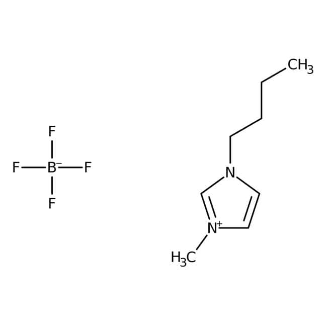 1-Butyl-3-methylimidazolium tetrafluoroborate, 98+%, ACROS Organics
