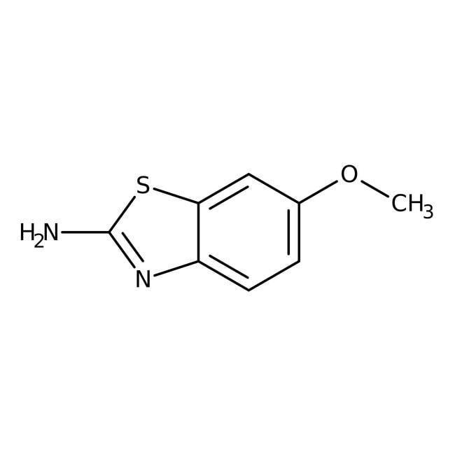 2-Amino-6-methoxybenzothiazole, 98%, ACROS Organics™