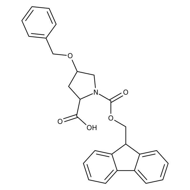 Alfa Aesar™trans-4-Benzyloxy-N-Fmoc-L-proline, 98% 250mg Alfa Aesar™trans-4-Benzyloxy-N-Fmoc-L-proline, 98%