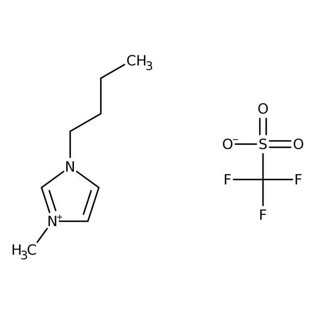 1-Butyl-3-methylimidazolium trifluoromethansulfonate, 99%, ACROS Organics