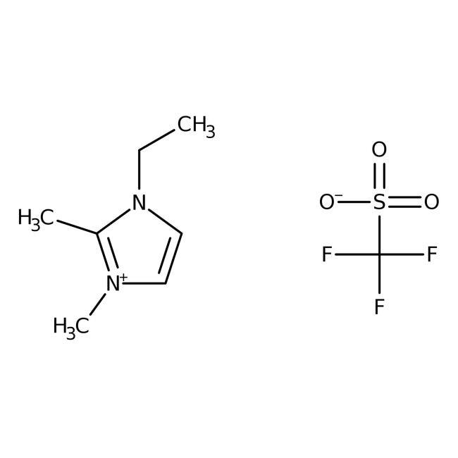 Alfa Aesar™1-Ethyl-2,3-dimethylimidazoltrifluormethanesulfonat, 98% 50g Alfa Aesar™1-Ethyl-2,3-dimethylimidazoltrifluormethanesulfonat, 98%