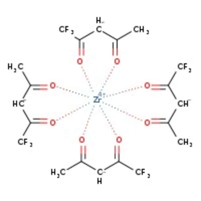 Alfa Aesar™Zirkonium(IV)1,1,1-Trifluor-2,4-pentandionat, 98 +% 25g Alfa Aesar™Zirkonium(IV)1,1,1-Trifluor-2,4-pentandionat, 98 +%