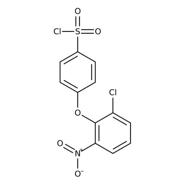 4-(2-Chloro-6-nitrophenoxy)benzene-1-sulfonyl chloride, 97%, Maybridge
