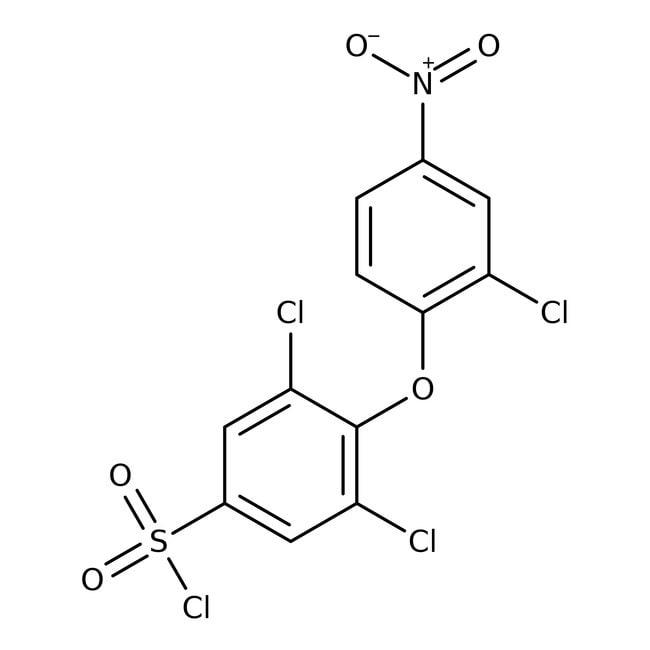3,5-Dichloro-4-(2-chloro-4-nitrophenoxy)benzene-1-sulfonyl chloride, 97%, Maybridge