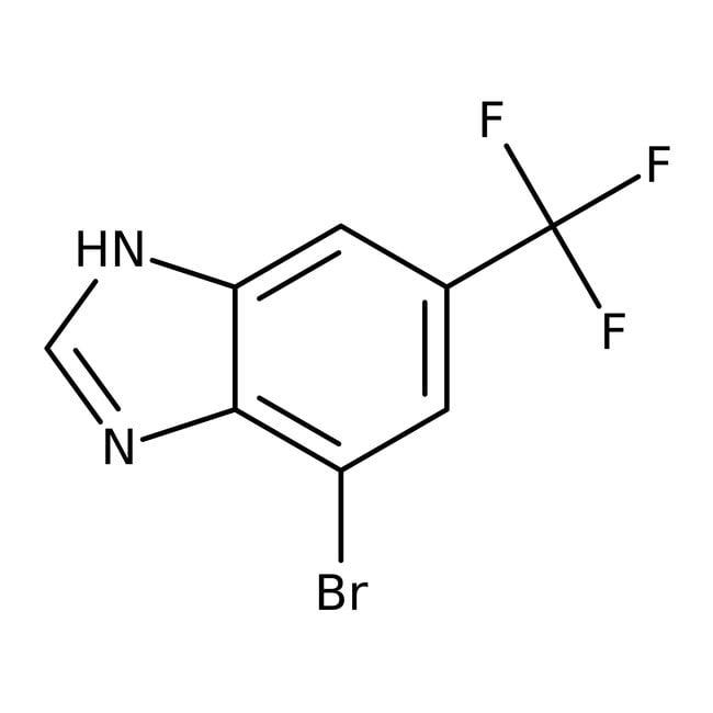 4-Bromo-6-(trifluoromethyl)-1H-benzo[d]imidazole, 97%, Maybridge