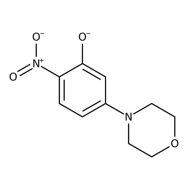 Alfa Aesar™5-(4-Morfolinil)-2-nitrofenol, 97 % 5g Alfa Aesar™5-(4-Morfolinil)-2-nitrofenol, 97 %