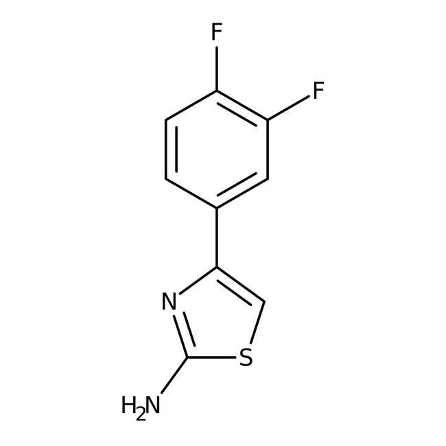 4-(3,4-Difluorphenyl)-1,3-thiazol-2-amin, 97%, Maybridge: Thiazoles Azoles