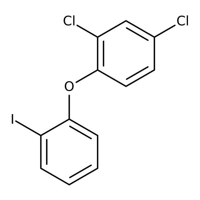 2,4-Dichloro-1-(2-iodophenoxy)benzene, ≥95%, Maybridge™