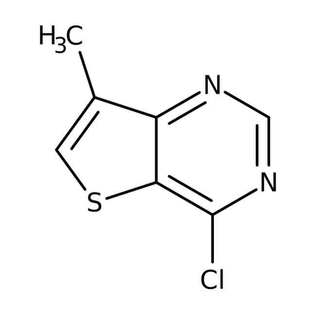4-Chlor-7-Methylthieno[3,2-d]Pyrimidin, 97 %, Maybridge 5 g 4-Chlor-7-Methylthieno[3,2-d]Pyrimidin, 97 %, Maybridge