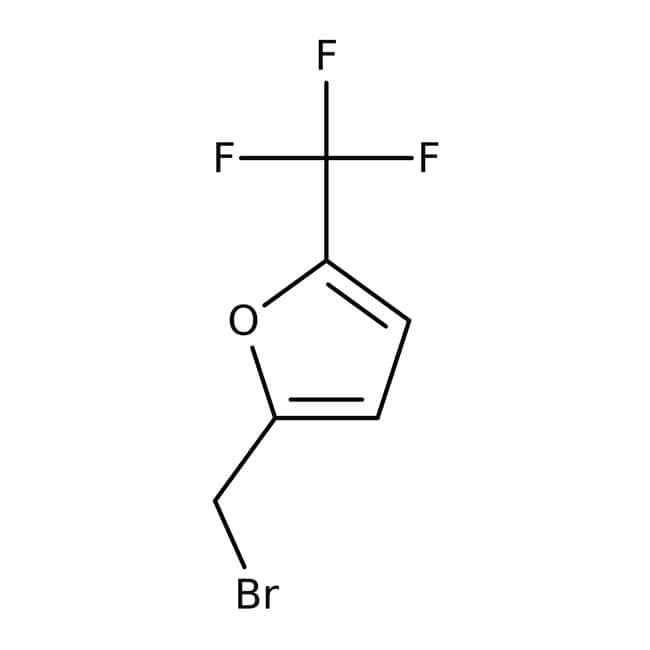 2-(Bromomethyl)-5-(trifluoromethyl)furan, 97%, Maybridge 5g 2-(Bromomethyl)-5-(trifluoromethyl)furan, 97%, Maybridge