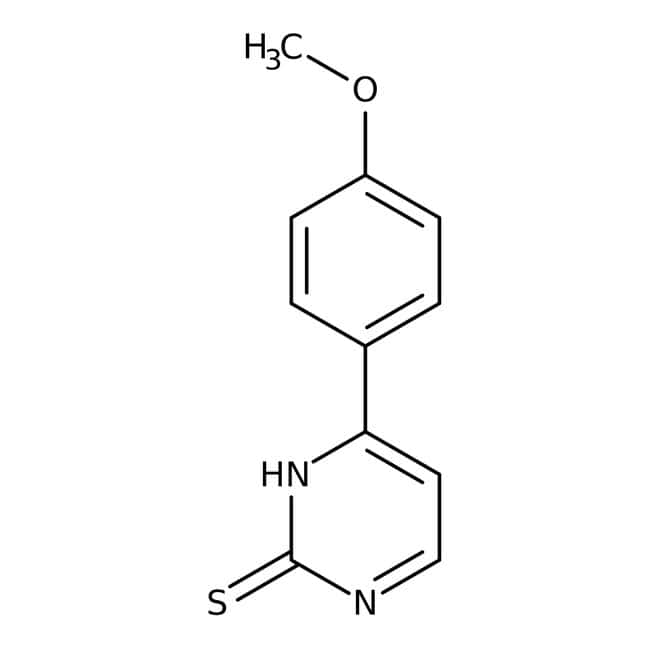 4-(4-Methoxyphenyl)pyrimidine-2-thiol, ≥95%, Maybridge™ 25g 4-(4-Methoxyphenyl)pyrimidine-2-thiol, ≥95%, Maybridge™