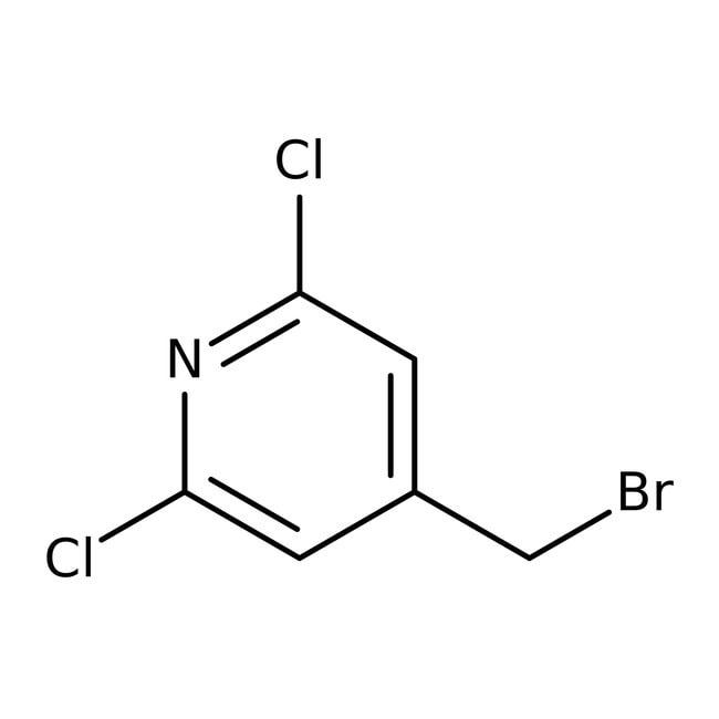 4-Bromomethyl-2,6-dichloropyridine, 97%, ACROS Organics™ 5g 4-Bromomethyl-2,6-dichloropyridine, 97%, ACROS Organics™