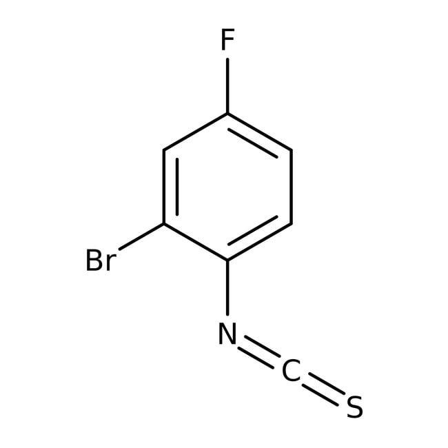 2-bromo-5-Fluorophenylisothiocyanat, Maybridge 1g 2-bromo-5-Fluorophenylisothiocyanat, Maybridge