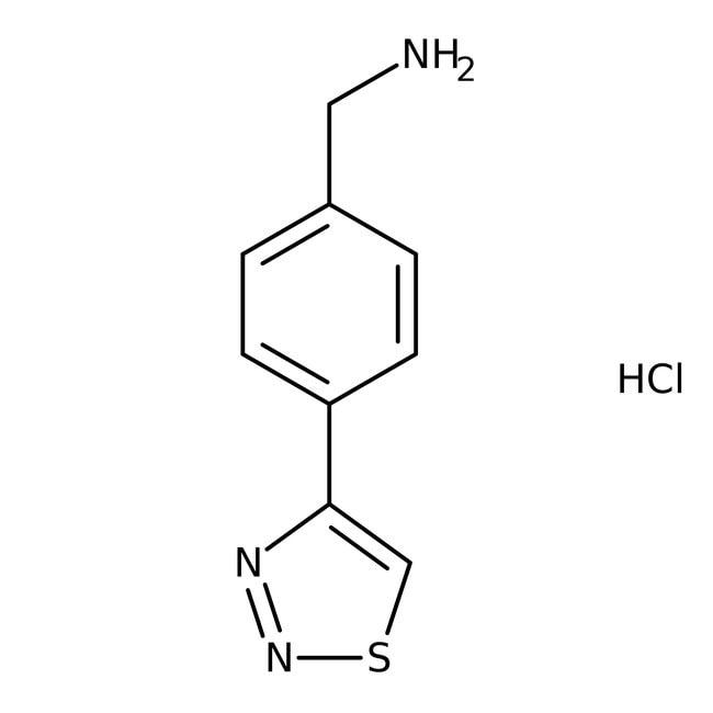 4-(1,2,3-Thiadiazol-4-yl)benzylamine hydrochloride, ≥95%, Maybridge™