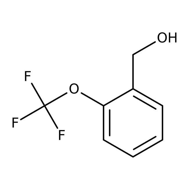Alfa Aesar™2-(Trifluoromethoxy)benzyl alcohol, 97% 5g Alfa Aesar™2-(Trifluoromethoxy)benzyl alcohol, 97%