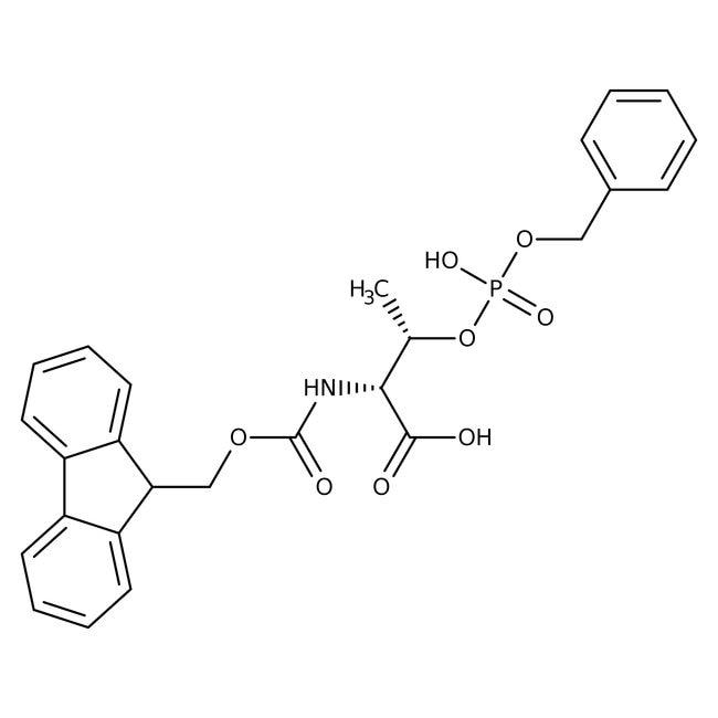 Alfa Aesar™N-Fmoc-O-benzylphospho-L-threonine, 97% 1g Alfa Aesar™N-Fmoc-O-benzylphospho-L-threonine, 97%
