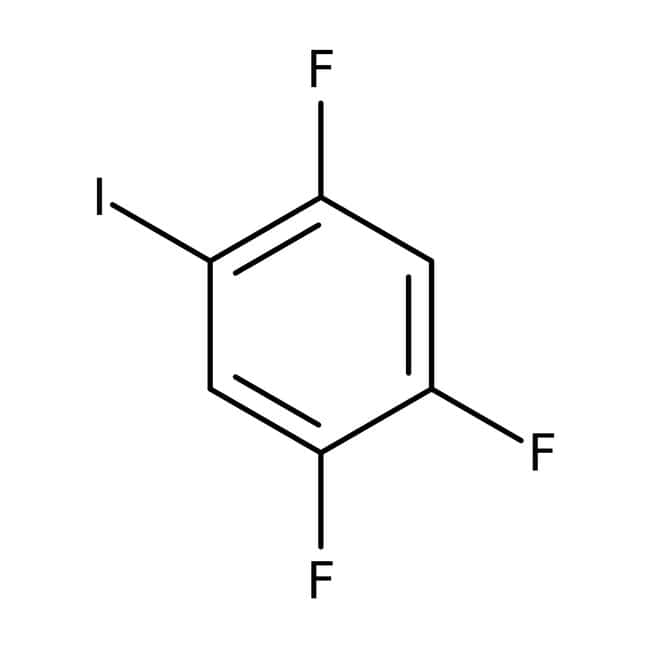 Alfa Aesar™2,4,5-Trifluoro-1-iodobenzene, 95% 25g Alfa Aesar™2,4,5-Trifluoro-1-iodobenzene, 95%