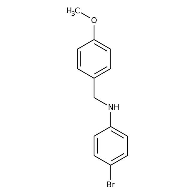 Alfa Aesar™4-Bromo-N-(4-methoxybenzyl)aniline, 97%
