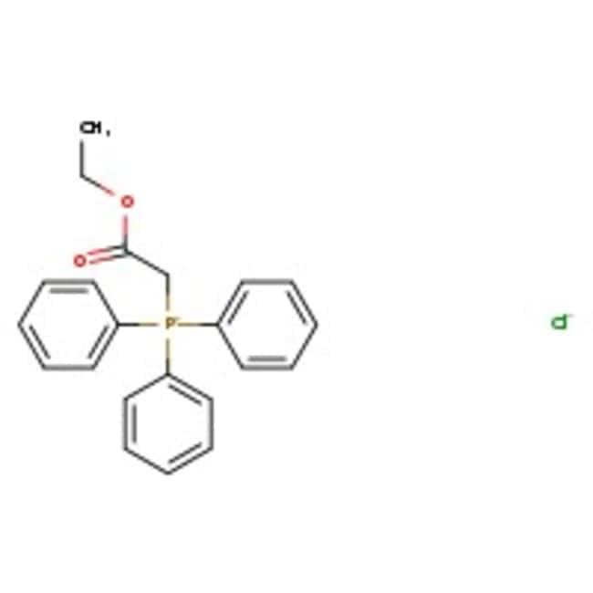 Alfa Aesar™(Ethoxycarbonylmethyl)triphenylphosphoniumchlorid, 97% 5g Alfa Aesar™(Ethoxycarbonylmethyl)triphenylphosphoniumchlorid, 97%