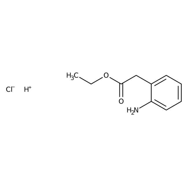 Alfa Aesar™D-(-)-2-Phenylglycine ethyl ester hydrochloride, 98+%: Alpha amino acids and derivatives Amino acids and derivatives