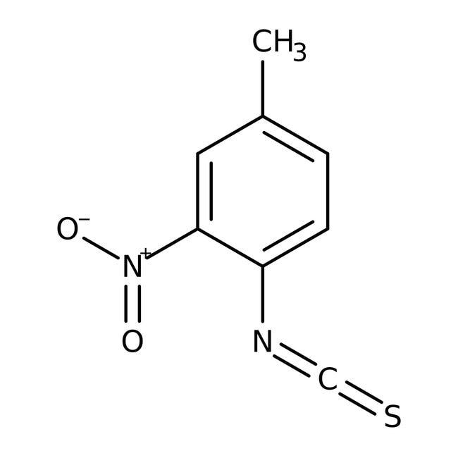 Alfa Aesar  4-Methyl-2-nitrophenyl isothiocyanate, 95%