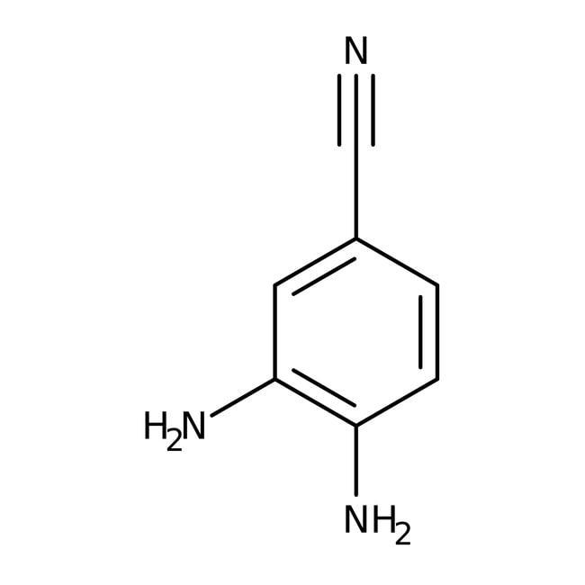 Alfa Aesar™3,4-Diaminobenzonitrile, 97% 5g Alfa Aesar™3,4-Diaminobenzonitrile, 97%