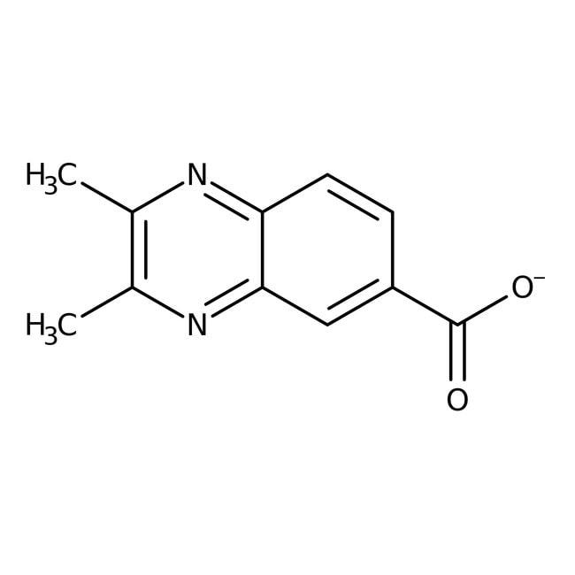 2,3-Dimethyl-quinoxaline-6-carboxylic acid, 97%, Maybridge™