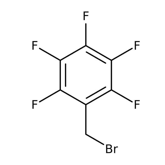 α-Bromo-2,3,4,5,6-pentafluorotoluene, 97%, ACROS Organics™: Benzyl halides Benzene and substituted derivatives