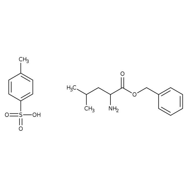 Alfa Aesar™D-Leucine benzyl ester p-toluenesulfonate, 98% 5g Alfa Aesar™D-Leucine benzyl ester p-toluenesulfonate, 98%