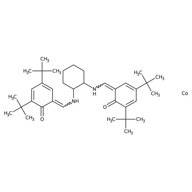 (R,R)-(-)-N,N'-Bis(3,5-di-tert-butylsalicylidene)-1,2-cyclohexanediaminocobalt(II), 98%, ACROS Organics™
